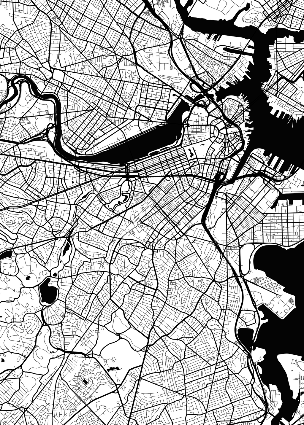 Picture of boston_traffic_white_map