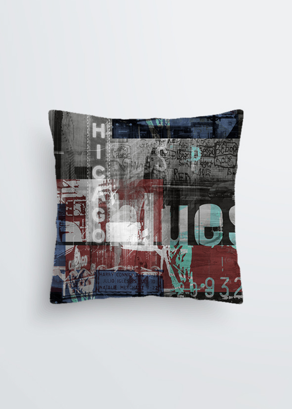 Picture of Chicago VII Pablo Pillow