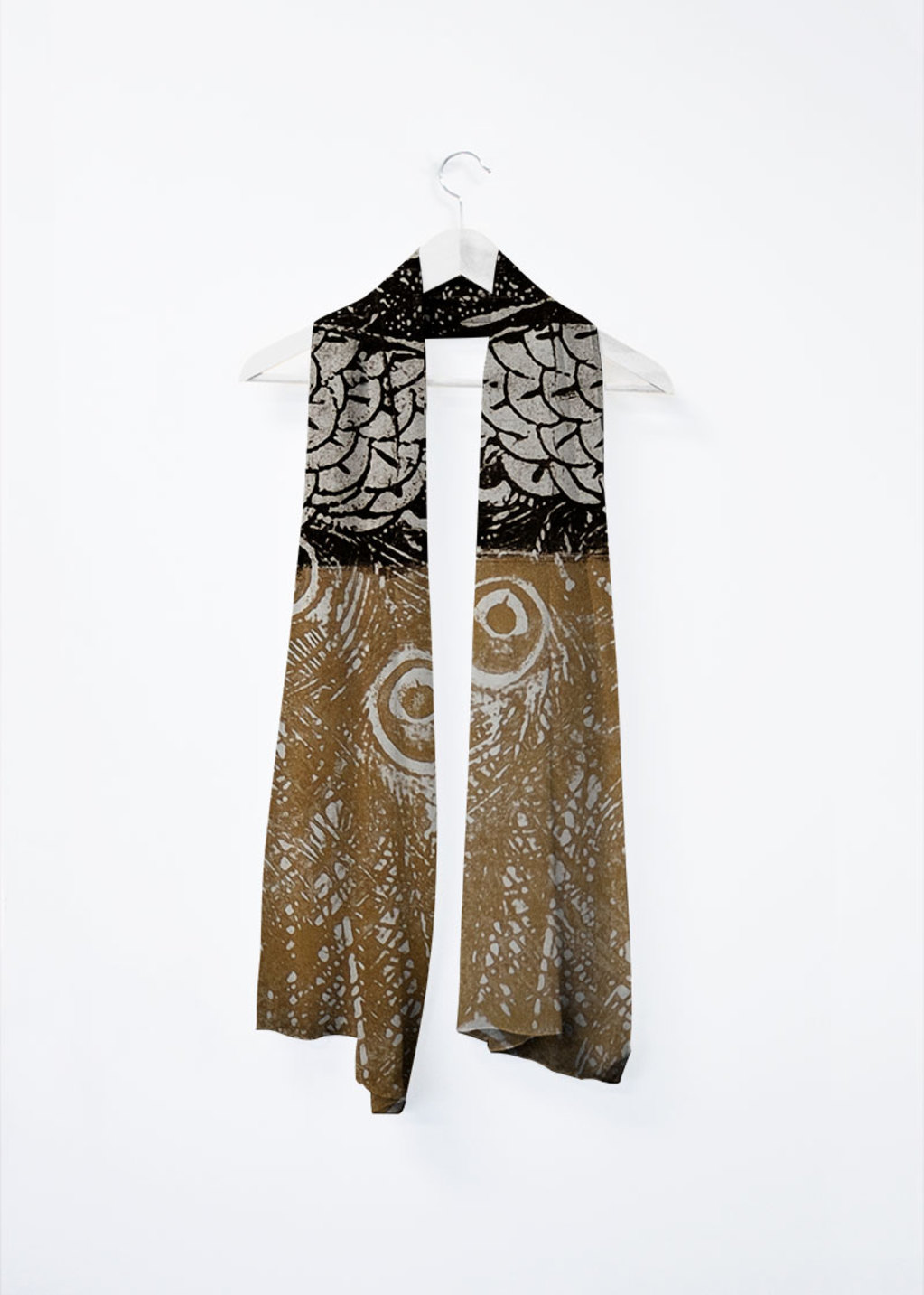 Picture of peacock Vivienne Scarf