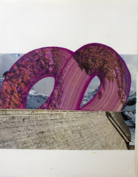 Picture of Adieu Collage Triptych I