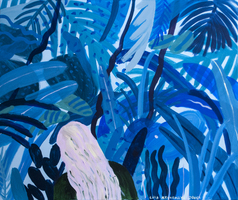 Picture of blue jungle