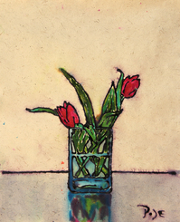 Picture of Red Tulips by Igor Pose