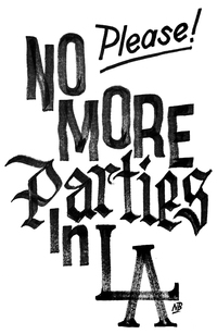 Picture of No More Parties... Please