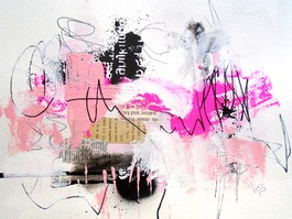 Picture of Pink and Black Haikus 9