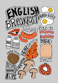 Picture of English Breakfast grey food