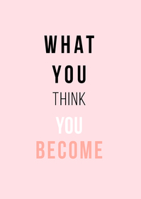 Picture of What You Think You Become