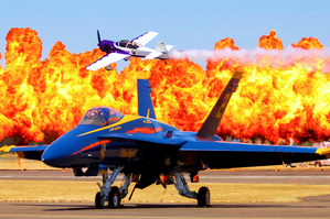 Picture of Blue Angel - Fire