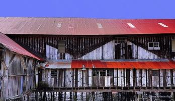 Picture of Cathlamet Dock Art