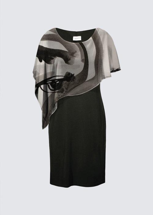 Picture of Woman Joni Cape Dress