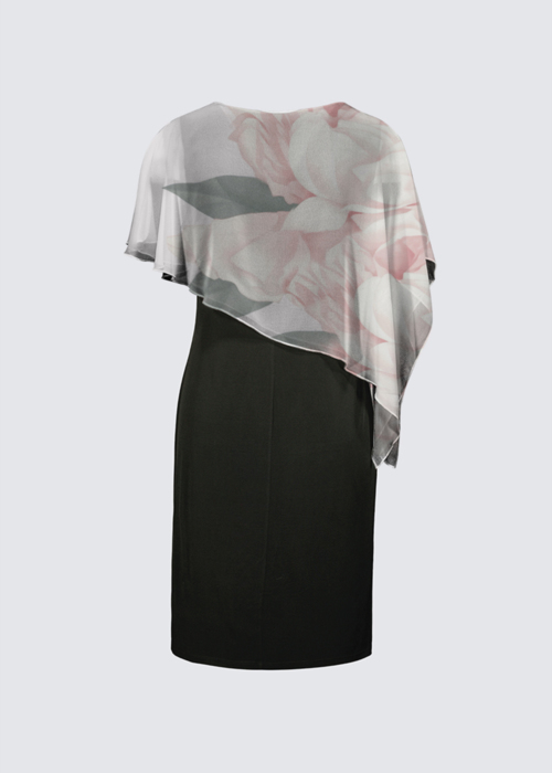 Picture of Rosy Joni Cape Dress
