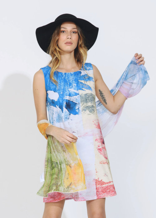 Picture of Flower Jungle Camille Dress