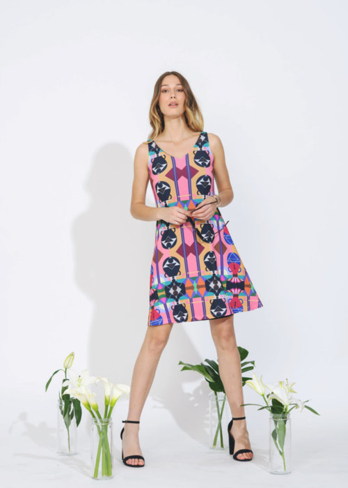 Picture of peacock Kate Dress