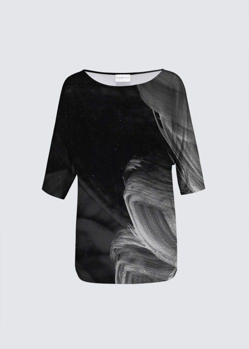 Picture of Untitled Black and White Dolly Top